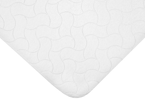 American Baby Company Waterproof Embossed Quilt-Like Flat Cr