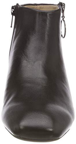Donna Black Stivali black Nero Laredo Unisa na Arricciati PWExwIx0qY