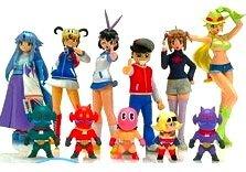 MegaHouse C-MODEL Arcade Gamer Fubuki colored version of all six