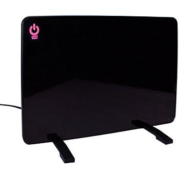 Cozy Products CL-2 Cozy Legs Flat Panel Space Heater Office Desk 200W, Black
