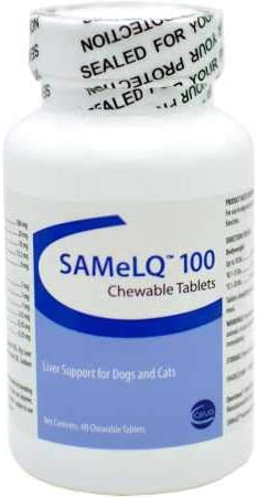 Vitality SAMeLQ 100 Chewable Tablets 60 ct