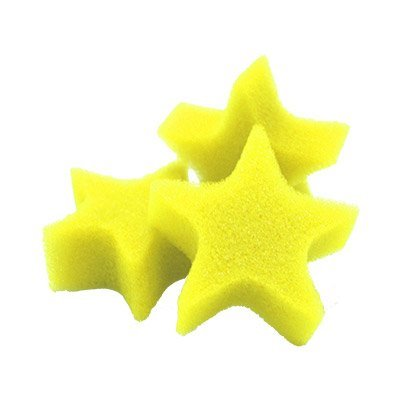 Super Stars Yellow (Bag of 25) by Goshman - Trick: Toys & Games