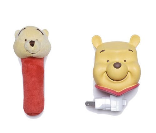 Neutral Pooh Night Light Rattle product image