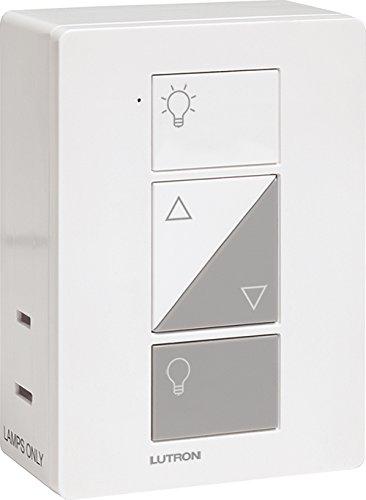 lutron p bdg pkg2p caseta wireless smart lighting deluxe lamp dimmer kit 1 smart bridge 2 plug. Black Bedroom Furniture Sets. Home Design Ideas
