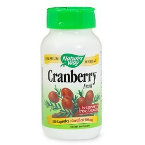 Nature's Way Cranberry Fruit, 465mg, Capsules 100 ea by AB
