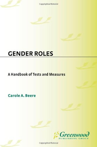 Download Gender Roles: A Handbook of Tests and Measures Pdf