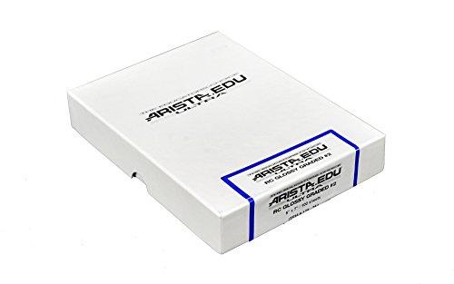 Arista EDU Ultra RC Black & White Photographic Paper, Glossy #2 5x7, 100 Sheets (Premium Photo Paper Rc Matte)