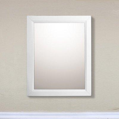 Bellaterra Home 7611-MC-WH Mirror Cabinet, 24-Inch, Wood, White