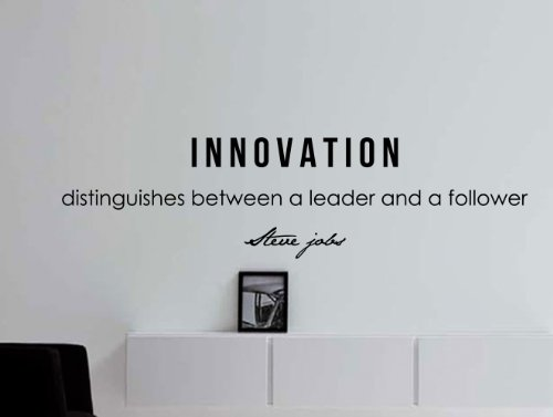 Steve Jobs Motivational Business Quote Wall Decal