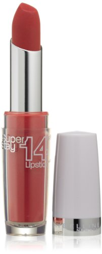 Maybelline New York Superstay 14 hour Lipstick, Timeless Crimson, 0.12 Ounce