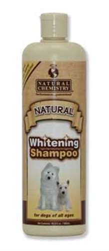 Natural Chemistry Natural Whitening and Brightening Shampoo with Hawaiian White Ginger Root for Pets, 16.9-Ounce