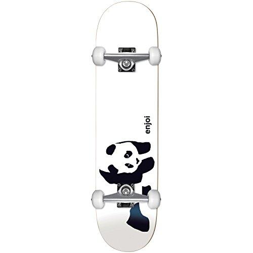 Enjoi HG Panda Logo 6.75Mc Complete, White (Deck Mini Skateboard)