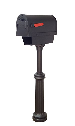 Special Lite Products Company Savannah Curbside Mailbox With Paper Tube And Bradford Mailbox ()