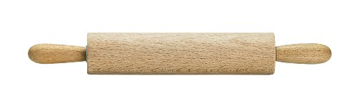 Mrs. Anderson's Baking Children's Wooden Rolling Pin, German Beechwood with Steel Ball Bearings, 7-Inch by 1.5-Inch
