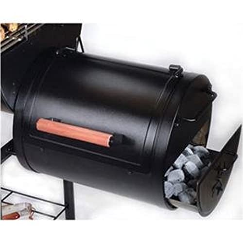Side Smoker Box For Charcoal Grill Amazon Com