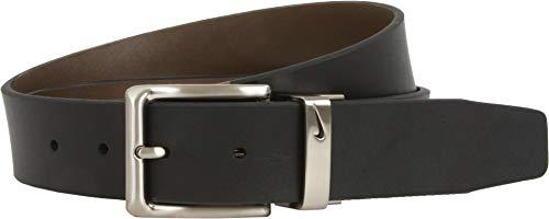 Nike Men's Reversible Dress Belt, Black/Brown, 38 (Men Dress Reversible Belts)