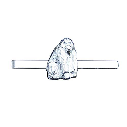 Orang-Utan Ape Pewter Tie Clip (Slide/Bar), Handcast by William Sturt
