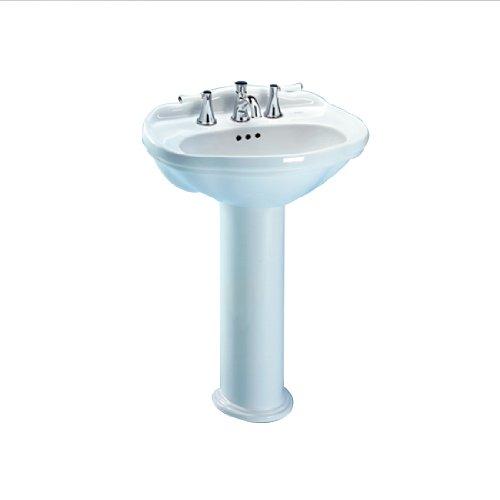 Toto LPT754.4#51 Whitney Pedestal Lavatory, Ebony
