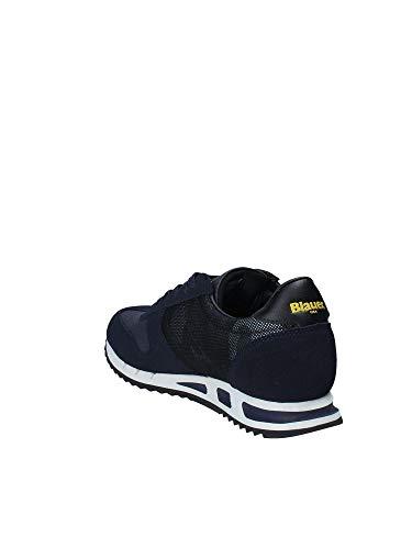 Sneakers miraculous UxvHHnR nyl Blu Shoes 8fmemphis04 amp; Blauer Uomo qTwfx86PXS