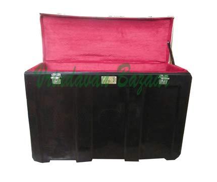 Vrindavan Bazaar Fiberglass Flight case for Indian Portable Scale Changer  Harmonium Case