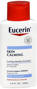 Eucerin Calming Itch-Relief Treatment Lotion - 6.8 oz, Pack of 6