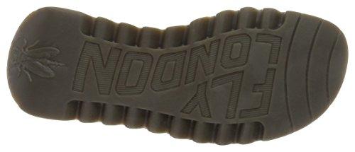 Wedge London Fly 021 Dk Damen Brown Brown Trim Sandals pwqOf4Zw