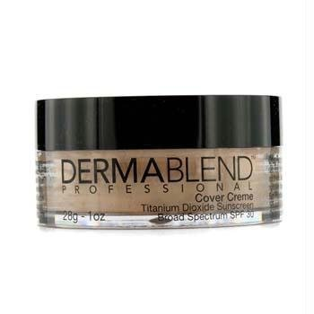 Dermablend Cover Creme Broad Spectrum SPF 30 (High Color Coverage) - Natural Beige 28g/1oz by Dermablend (English Manual)