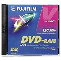 Recordable 120 Minute DVD-RAM Disc