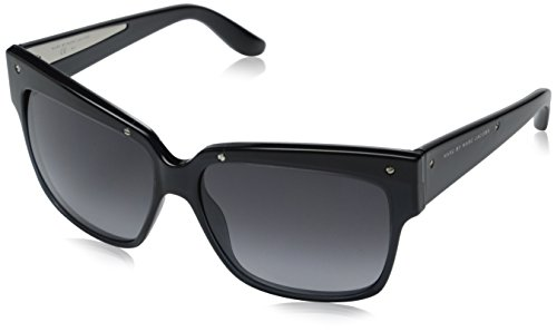 Marc by Marc Jacobs Women's MMJ423S Square Sunglasses, Dark Gray, 57 - Marc Sunglasses