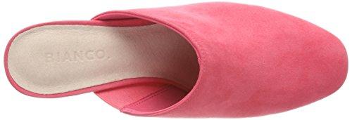 Bianco Damen Scarpa Mulo Pistone Rosa (lampone)