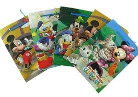 Disney Mickey & Minnie Maus Geschenk Taschen - 6 Stück