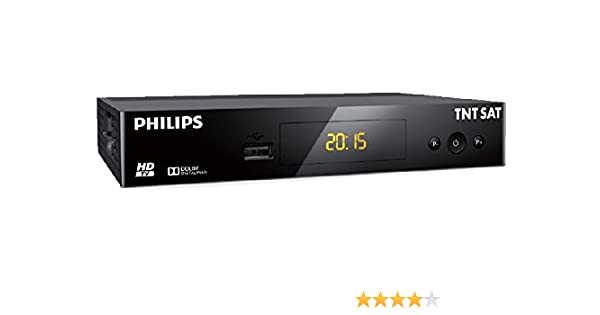 Philips - Tnt Sat dsr3231t Receptor de TV HD Satelite - negro ...