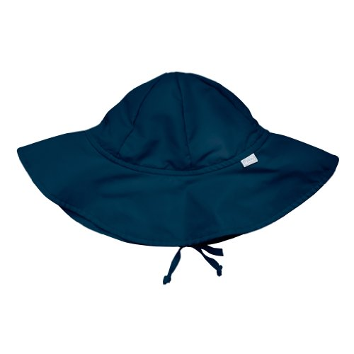 i play. Baby Brim Sun Protection Hat, Navy, 0-6 months