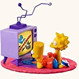 QXI2264 TV Time! The Simpsons 2008 Hallmark Keepsake Magic Ornament