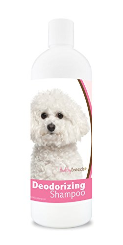 Healthy Breeds Dog Deodorizing Shampoo For Bichon Frise - Over 200 Breeds - For Itchy Sensitive Dry Flaking Scaling Skin & Coat - Hypoallergenic Formula & Ph Balanced - 16 Oz