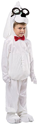 Mr White Costume (Rasta Imposta Dreamworks Mr. Peabody Costume, 4-6)