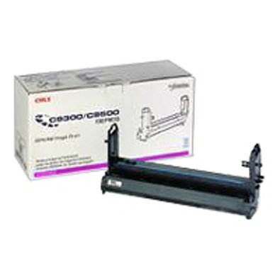 OKIDATA Magenta Image Drum For C9300/C9500 Series Type C5 Up To 39000 Pages At 5% Coverage