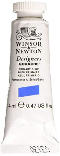 Winsor & Newton 0605523 Designer Gouache, Primary Blue