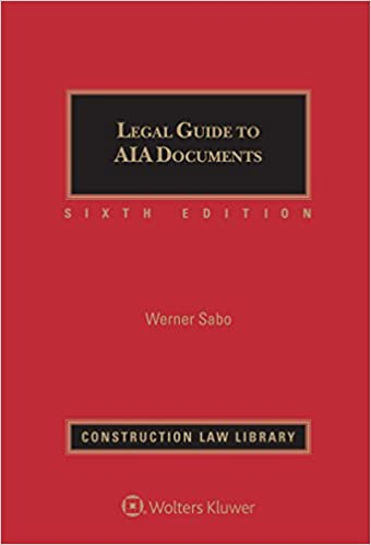 Amazon com: Legal Guide to AIA Documents (9781454884118