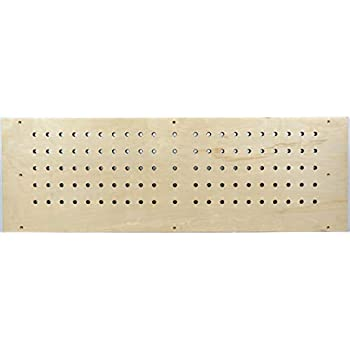 Image of 12' x 36' Blank Hangboard | Climbing Holds | Natural Wood