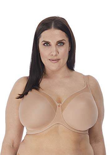 Elomi Women's Plus Size Smooth Underwire Molded Bra, Sahara, 48E