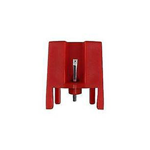 Diamond Stylus Ceramic Moving Magnet Replacement Needle Stylus for IONT Crosley Turntable record players (RED)-1 PCS