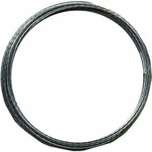 Coil Galv Wire (Hillman Wire Coil 50' 20 Ga Galvanized 238 Lb Limit Bulk)
