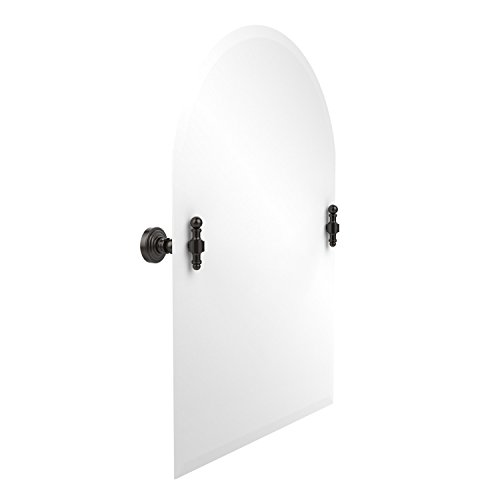 Allied Brass RW-94-ORB 21-Inch x 26-Inch Arched Top Mirror, Oil Rubbed (Oval Tilt Top)