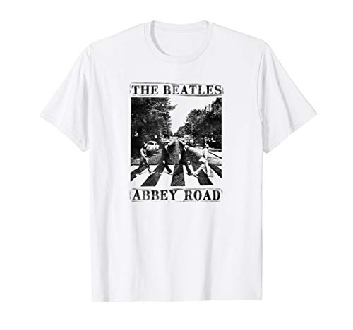 - The Beatles Abbey Road T-shirt