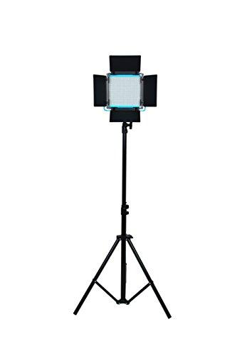 Dracast DRSPPLLK3x500DNH S Series Plus Daylight LED500 3-Light Kit 2 NPF Plates with Hard Case, Blue by Dracast (Image #4)