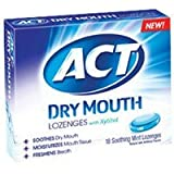 ACT Dry Mouth Lozenges Mint, Mint 18 Each - Best Reviews Guide