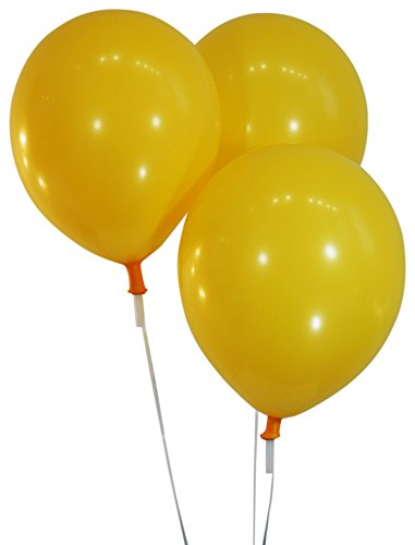 """Creative Balloons 12"""" Latex Balloons - Pack of 72 Pieces - Decorator Marigold"""
