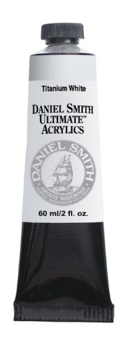Daniel Smith 60ml Ultimate Acrylic Paint Tube, Titanium White