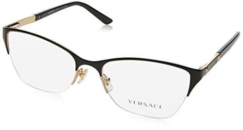 Versace VE1218 Eyeglass Frames 1342-53 - Gold - Glasses Designer Prescription For Frames
